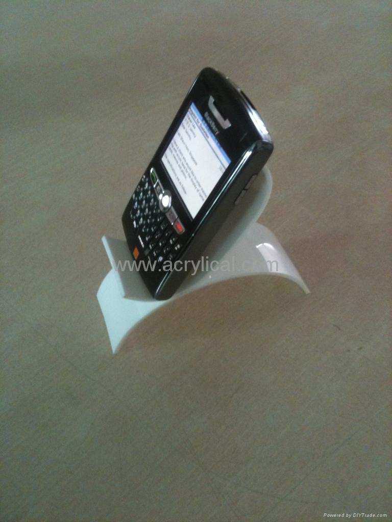 手機展示架,亞克力手機展示架 ,有機玻璃電子產品展示架 1