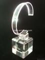 有机玻璃(亚克力)手表展示架/亚克力手表C圈支架/ 2