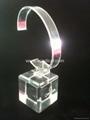 有機玻璃(亞克力)手錶展示架/亞克力手錶C圈支架/ 4