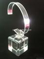 有机玻璃(亚克力)手表展示架/亚克力手表C圈支架/ 5