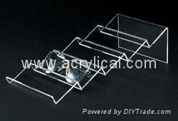 Acrylic Riser 3 difference size for jewelry display