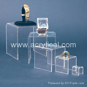 acrylic riser  display stands