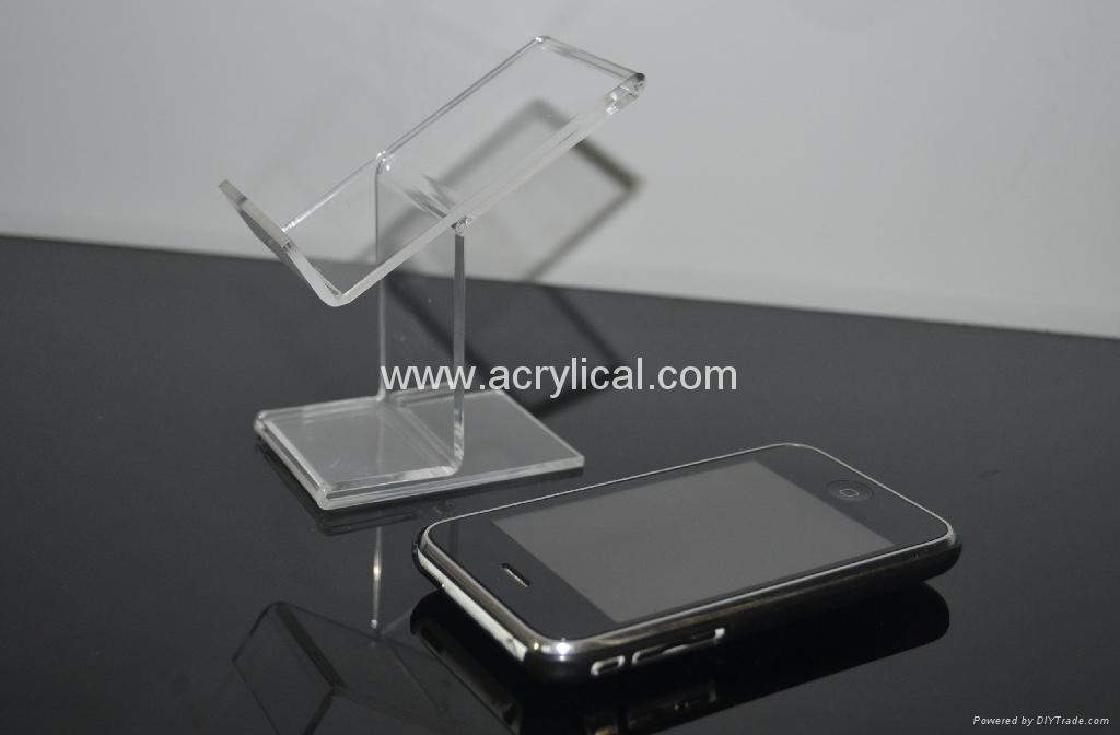acrylic phone  display 手机展示架 1