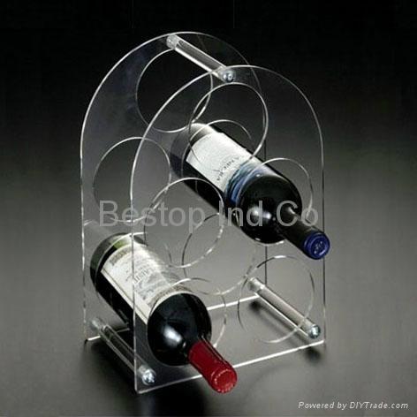 wine storage display stand