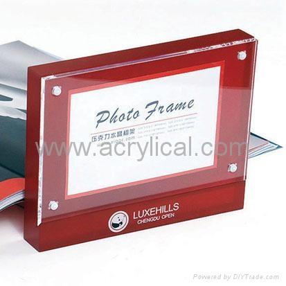 acrylic photo frame %R