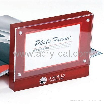 large acrylic cube photo frame,acrylic photo frame,square acrylic photo frame,clear acrylic photo frame cube,mini acrylic photo frame,acrylic magnetic photo frame,clear acrylic magnetic photo frame,The Heavy Magnetic Picture Frame preserves your photo between heavy sheets of clear acrylic that are held together by magnetic corners. Can be used vertically or horizontally and available in three sizes:2-1/2 X 3-1/2 X 3/4, 3 1/2'', 3 1/2'' x 5'', 4'' x 6'', 5'' x 7'',Acrylic Photo Frame,photo frame with magnet,Acrylic display stands, Acrylic sign letter ,Acrylic photo Frame,Literature displays, Brochure holders, Acrylic sign holder,Menu stand,Promotion gifts,Cell phone display stands, Acrylic Easel Book Holder Rack,Acrylic display case/Box ,Diecast car display case ,Trophies, Artistic ,POP display stands,Acrylic coaster,Jewelry display stand,dome display, eyewear display stands,LED lighting  Box,Poster display,LED display stands,Watch display stand,Counter top display stand,POP stand,POP display,Floor Standing Unit ,PETG,PVC,Vacuum forming,Window display stand,Acrylic Award,Cosmetic display,metal display rack, acrylic display rack.wooden display rack,retail shop display stand