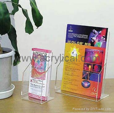 leaflet holder1/3+A4 size