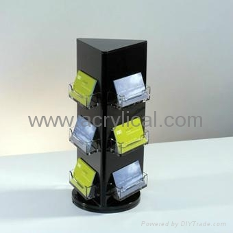 acrylic name card holder