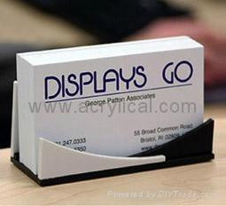 acrylic name card holder