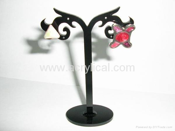 acrylic earring  display stand