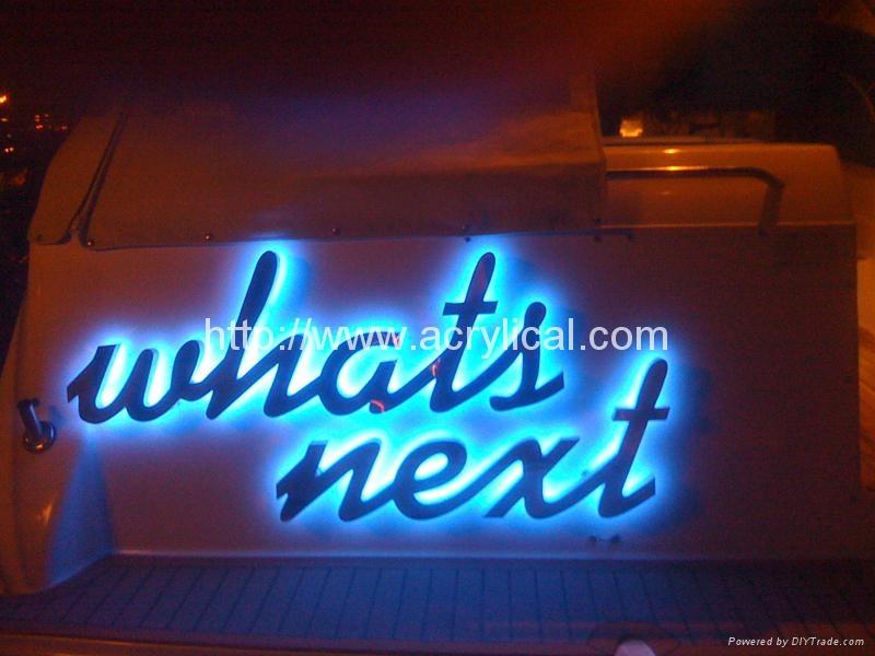 LED Intel Signage