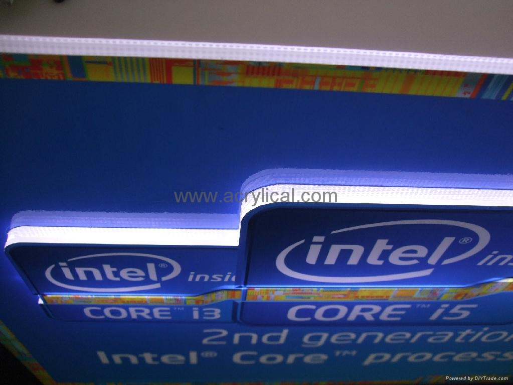LED SIGN DISPLAY STAND  for intel 2