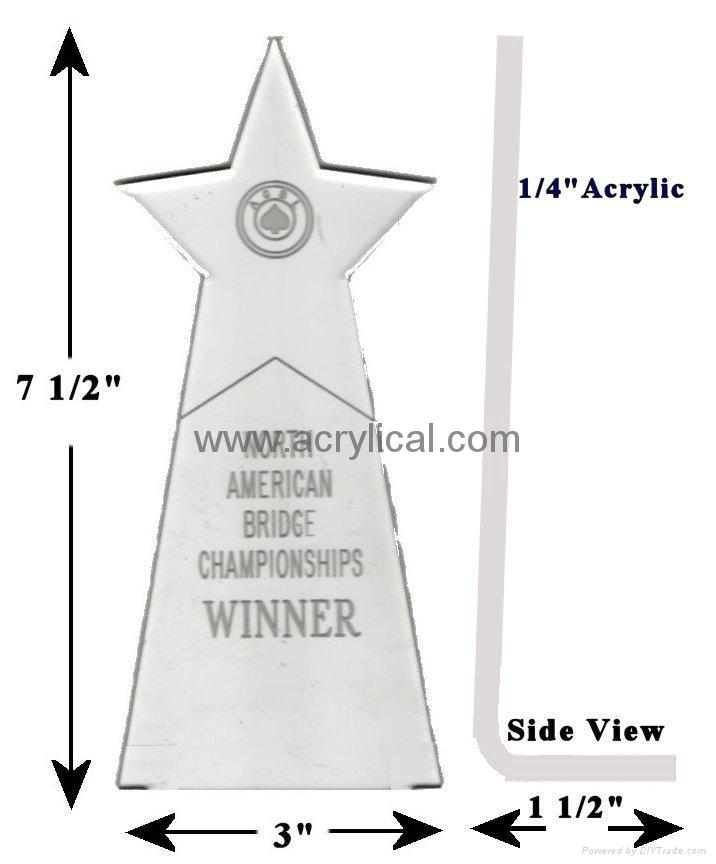 有机玻璃-奖座,亚克力奖牌 1