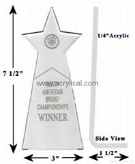 acrylic  award-logo engraving