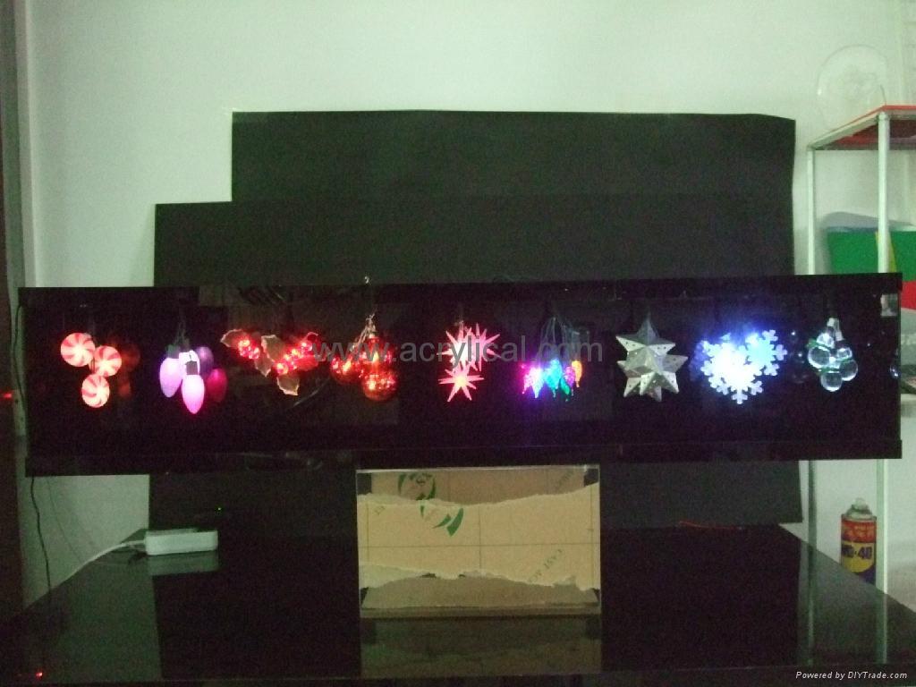 聖誕LED裝飾展示架/燈箱 1