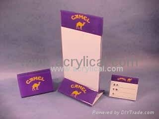 Acrylic Food/Wine Display,Acrylic display stands, Acrylic sign letter ,Acrylic photo Frame,Literature displays, Brochure holders, Acrylic sign holder,Menu stand,Promotion gifts,Cell phone display stands, Acrylic Easel Book Holder Rack,Acrylic display case/Box ,Diecast car display case ,Trophies, Artistic ,POP display stands,Acrylic coaster,Jewelry display stand,dome display, eyewear display stands,LED lighting  Box,Poster display,LED display stands,Watch display stand,Counter top display stand,POP stand,POP display,Floor Standing Unit ,PETG,PVC,Vacuum forming,Window display stand,Acrylic Award,Cosmetic display,metal display rack, acrylic display rack.wooden display rack,retail shop display stand