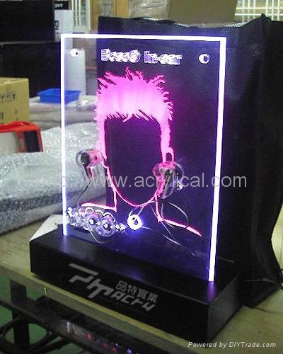 LED counter top display stand