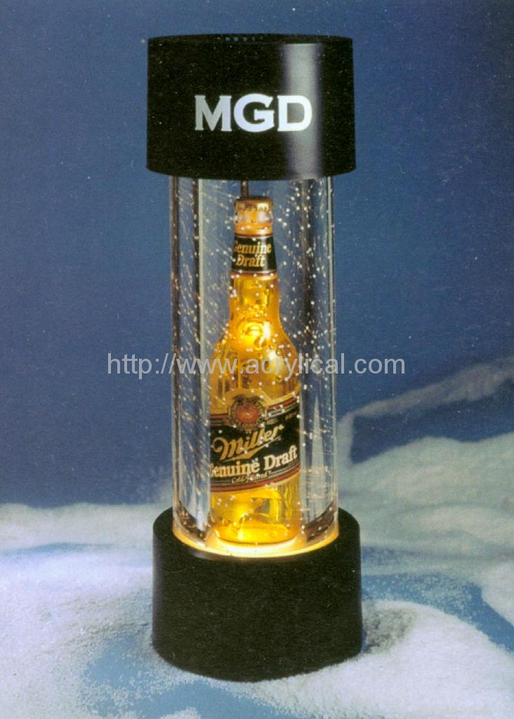 tube LED display stand