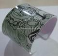 Acrylic bangle bracelete