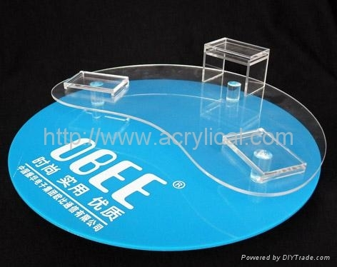 phone  acrylic counter top display stand