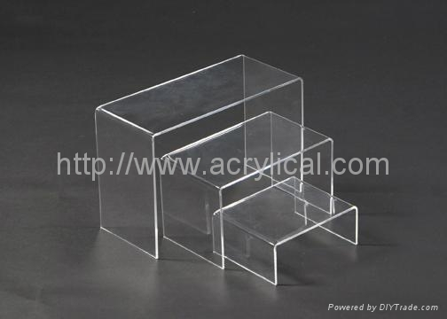 We offer a wide range of Acrylic Risers to accent, raise, highlight, and make attractive displays in your store, business, or in your home.  Whether you are looking for small Acrylic Risers to hold small items such as figurines, jewelry, and model cars or large risers we have a size that will work for you. We also offer a wide variety of other attractive Clear Acrylic Display Pedastels, Acrylic Stairways, and Tiered Acrylic Displays to fit most any need.  We carry over 100 different sizes and styles of acrylic risers in stock for immediate shipment,Acrylic Riser display stand,Acrylic display stands, Acrylic sign letter ,Acrylic photo Frame,Literature displays, Brochure holders, Acrylic sign holder,Menu stand,Promotion gifts,Cell phone display stands, Acrylic Easel Book Holder Rack,Acrylic display case/Box ,Diecast car display case ,Trophies, Artistic ,POP display stands,Acrylic coaster,Jewelry display stand,dome display, eyewear display stands,LED lighting  Box,Poster display,LED display stands,Watch display stand,Counter top display stand,POP stand,POP display,Floor Standing Unit ,PETG,PVC,Vacuum forming,Window display stand,Acrylic Award,Cosmetic display,metal display rack, acrylic display rack.wooden display rack,retail shop display stand