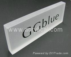 bent nameplate 5x3,Acrylic Nameplates, Plexiglass Name Plates, Acrylic Signs,   Plexiglass Logo Signs, Lucite Blocks, Plexiglass Plastic Invitations, Plastic Logo Blocks, Plexiglass Displays, Logo Paperweight.  Customize to any size, any shape,  any thickness, any plastic  Crisp details from precision silk-screen printing or laser engraving  Customized to match your font and logo  Unique combinations of materials  Laser or CNC capability  Clear or frosted finishes  Sharp edges, beveled edges  Metallic inks, PMS color matching  Go ahead; challenge us! sammy@acrylical.com sales@acrylical.com what apps: 852 60998900