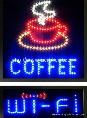 LED OPEN 牌/動態燈箱 1