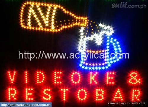 LED OPEN 牌/動態燈箱 3