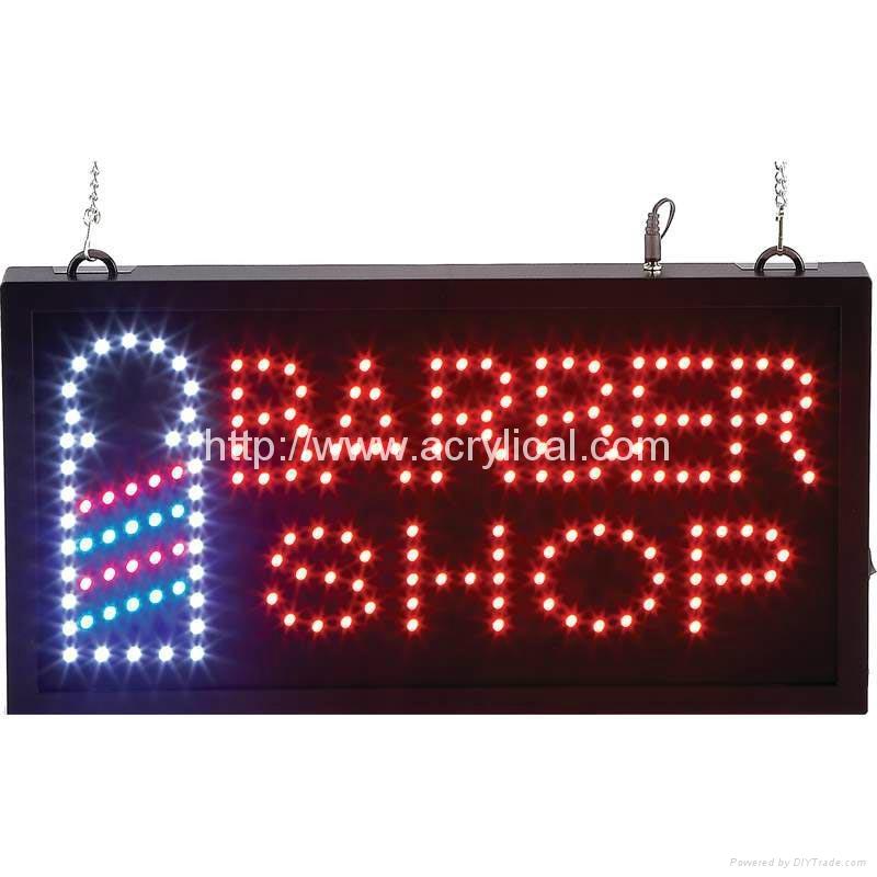 LED OPEN 牌/動態燈箱 5