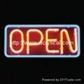 Acrylic LED open sign