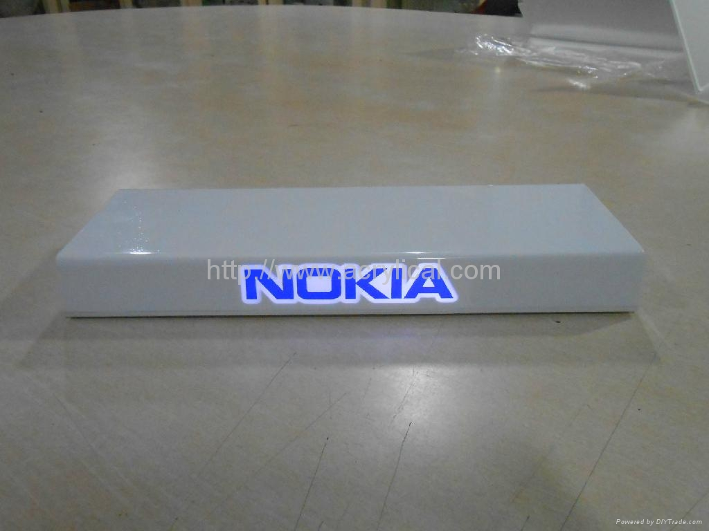 Nokia display stand with LED 1