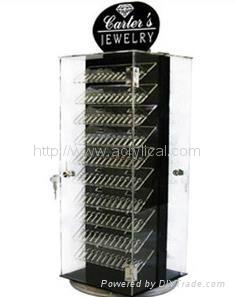 亞克力珠寶 展示架--可旋轉,賣場旋轉展架,亞克力珠寶展示架--可旋轉,展示架落地旋轉架
