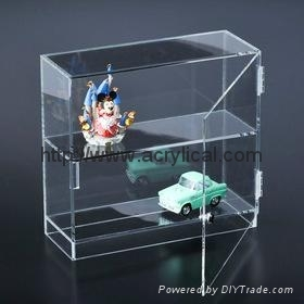 7Diecast Display Cases, model car display cases*5.4CM 3mm thickness