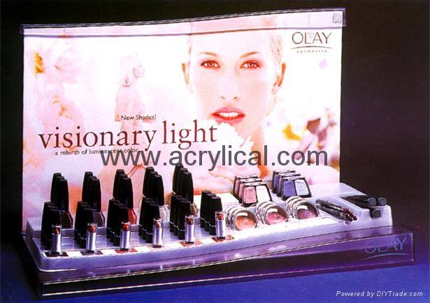 化妆品陈列架,商场促销展示,