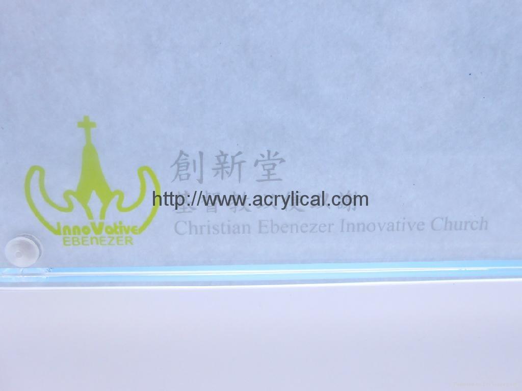 acrylic photo frame,4R acrylic magnetic photo frame