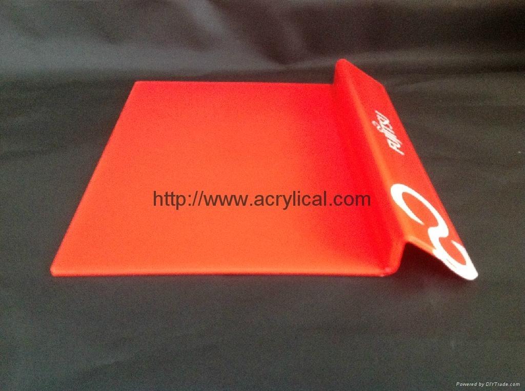 FUJITSU acrylic  laptop display stand