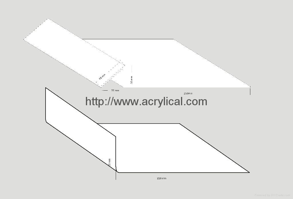 FUJITSU PVC laptop display stand