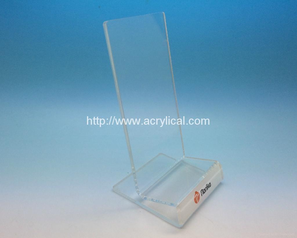 亞克力手機展示架 ,有機玻璃電子產品展示架 1