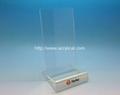 亚克力手机展示架 ,有机玻璃电子产品展示架 2