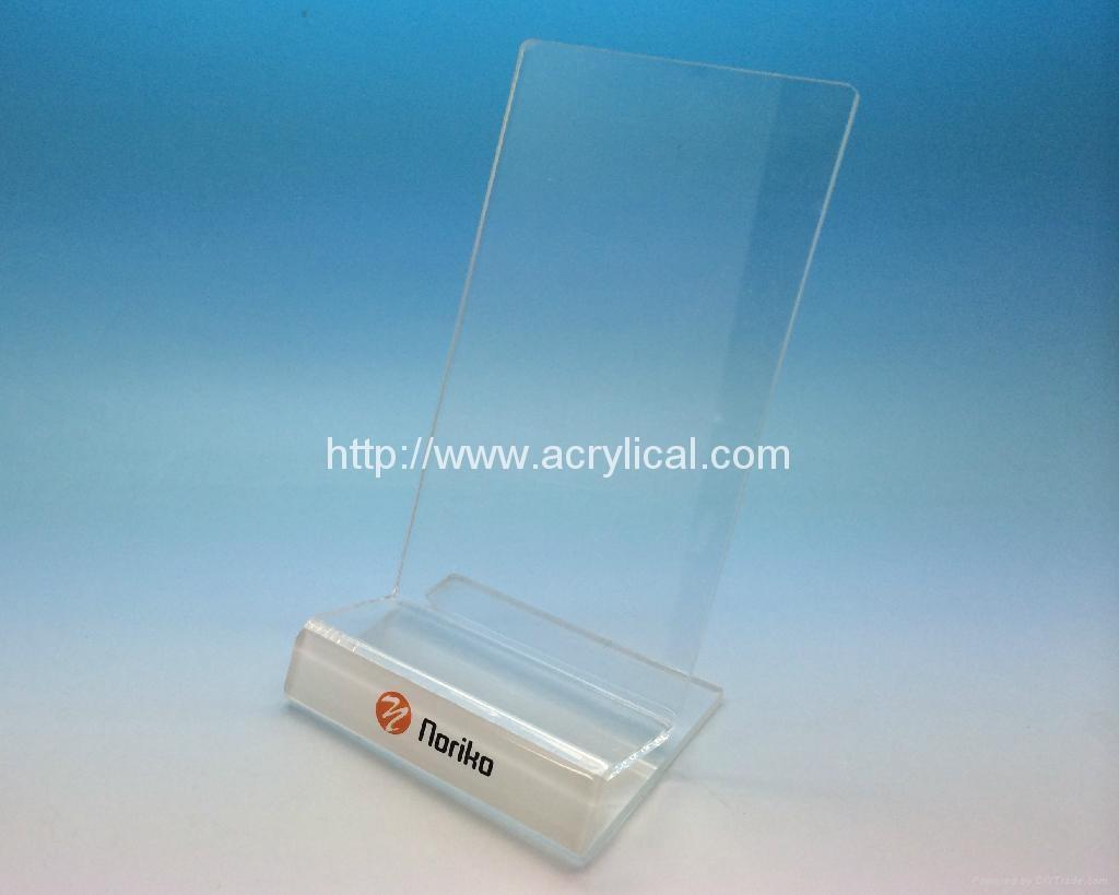 亚克力手机展示架 ,有机玻璃电子产品展示架 3