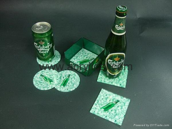 beer  coaster promtion kits