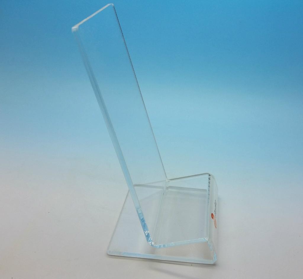 亚克力手机展示架 ,有机玻璃电子产品展示架 6