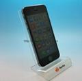 亚克力手机展示架 ,有机玻璃电子产品展示架 7