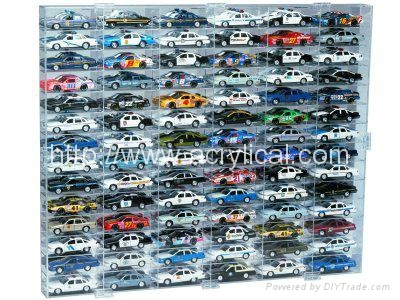 Acrylic Model Car Display Case --Display Cases for Models, Memorabilia, Antiques and Collectibles