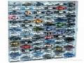 diecast car , acrylic display case