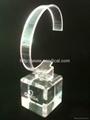 有機玻璃(亞克力)手錶展示架/亞克力手錶C圈支架/