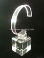 有机玻璃(亚克力)手表展示架/亚克力手表C圈支架/ 7
