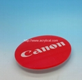 Acrylic coaster -Canon diameter 90mm