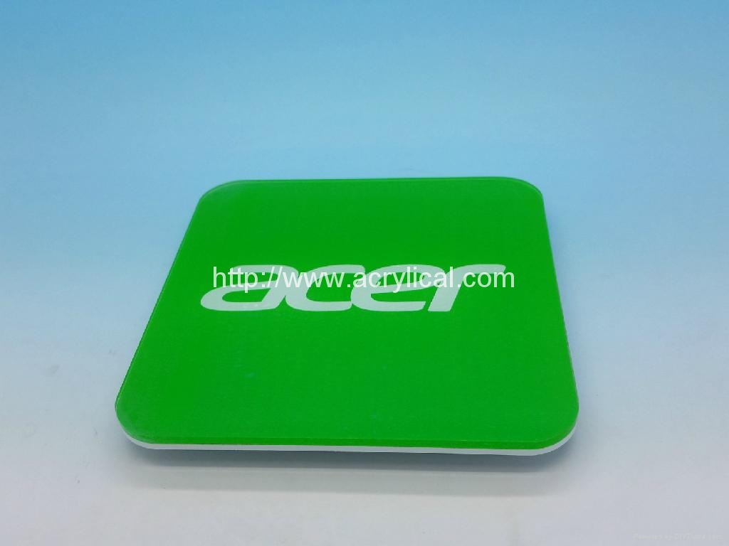 Band -Acer coaster,Corporation gifts-promotion gift -acrylic coaster