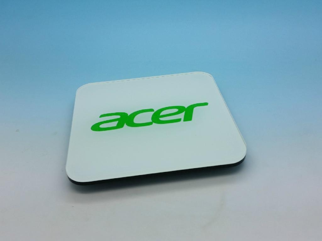 Acer promotion gifts-acrylic coasters